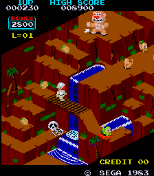 Congo Bongo screenshot (arkad)