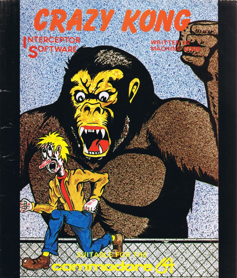 Crazy Kong Interceptor (C64)