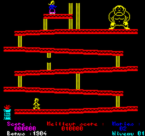 Honey Kong (Oric-1)