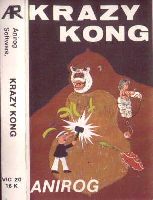 Krazy Kong (VIC20) Anirog