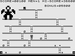 Krazy Kong (ZX81) Personal Software Services